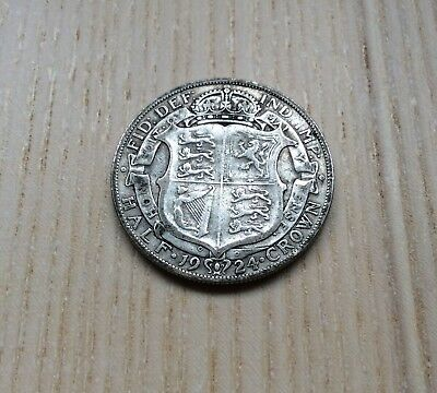 A very collectable 1924 George V Halfcrown