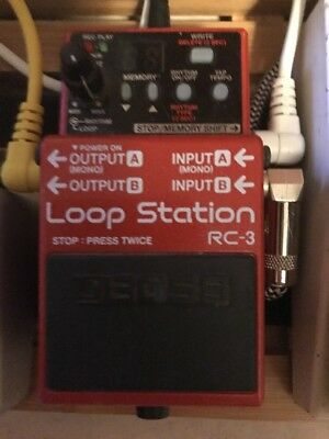 Boss RC-3  Effect Pedal Looper