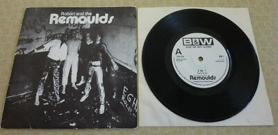 ROBERT and the REMOULDS, X NO.1 1979 BLACK AND WHITE RECORDS IN PICTURE SLEEVE.