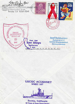 Us Coast Guard Cutter Uscgc Acushunet A Ships Cached Cover