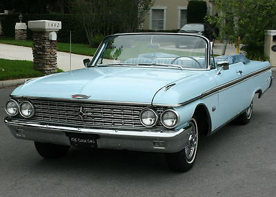 1962 Ford Galaxie XL500 CONVERTIBLE - 390 V-8 RARE RESTORED SURVIVOR 390 V-8 - 1962 Ford Galaxie 500XL Convertible - 44K MILES
