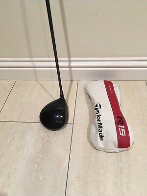 Taylormade R15 Driver 10.5 Degree Adjustable Reg Flex Right Hand Headcover Tool