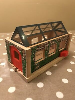 Thomas The Tank Engine Wooden Useful Engine Shed Thomas And Friends