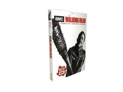 The Walking Dead: Season 7 (DVD, 2017, 5-Disc Set)