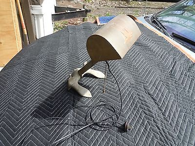 """US NAVY ANCHOR 5 Lb. 12.5"""" WC & CO NAUTICAL Lamp WILCOX CRITTENDEN, Great Shade"""