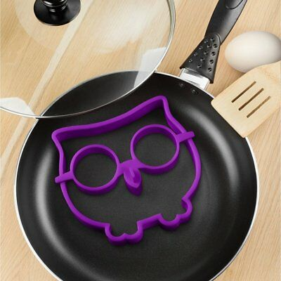 Kitchen Owl Egg Shaper Silicone Fried Fry Pan Art Mold Mould Party Novelty Fun