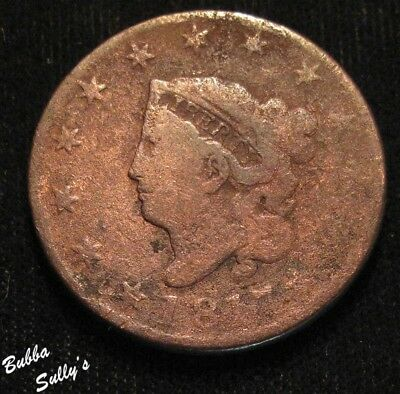 1817 Coronet Head Large Cent <> Rotated Reverse