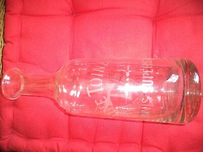 Ancienne  Et  Rare  Carafe  Anis Une  Toinette