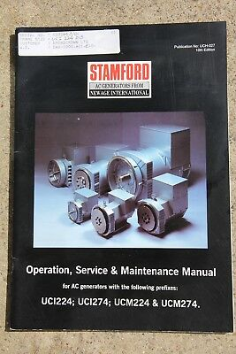 Stamford AC Generators - Service and maintenance manual