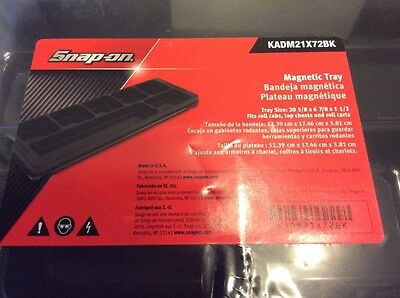 SNAP ON MAGNETIC TRAY  for TOOL BOX  / Roll cabs / carts Top Chests NEW. USA