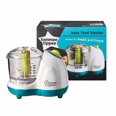 Tommee Tippee Baby Food Blender Small Masher Maker Chopper in original package