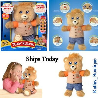 """NEW Teddy Ruxpin Official Return of the Storytime & Magical 14"""" Bear 2017"""