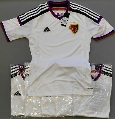 Bulk Deal of 6 FC Basel player issue away jerseys Small adults (new in bag)