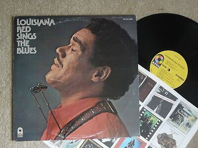 Louisiana Red Sings The Blues Us Atco Lp Vg+/nm Blues
