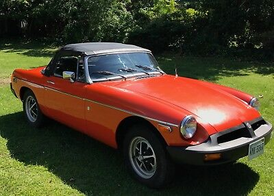 1975 MG MGB  1975 MG Convertible nice Condition nice paint No rust.