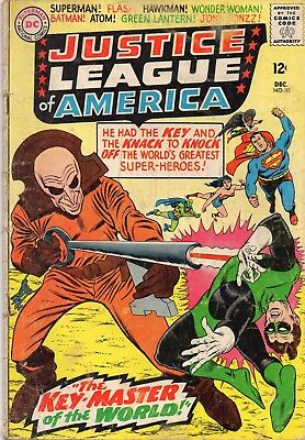 Justice League of America #36 and 41 Good condition The Key and handicapped JLA