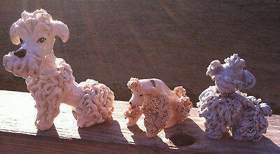 Three Classic Vintage Spaghetti  Poodles Pre Owned