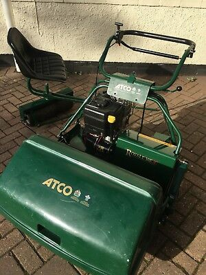 ALLETT ATCO ROYALE 30 I/c PETROL LAWNMOWER MOWER & AUTO SEAT  2007 MODEL