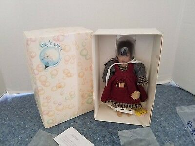 "Helen Kish 2007 ""Riley's World"" Tiny Little Match Girl - Brand New In Box"