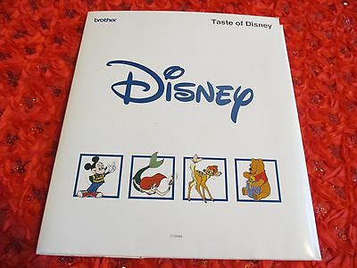 Brother Disney Embroidery Card Perfect condition