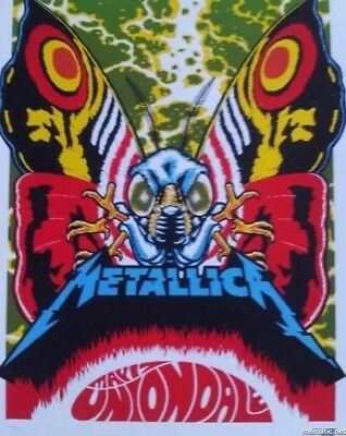 Metallica Uniondale NY New Nassau Coliseum  Poster Ames AP #/70 May 17 2017