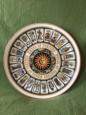 Wedgewood Wheel of Fortune Tarot Card Decorative Plate