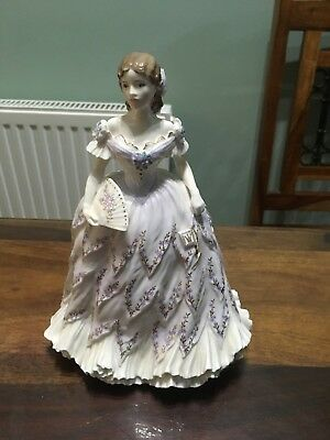Royal Worcester  Figurine  - The Last Waltz Limited Edition