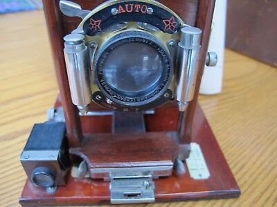 Kodak Pony Premo #4 4x5 sheet film camera with 6 film holders and leather case