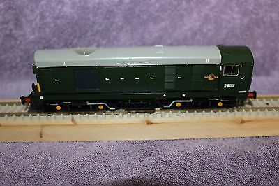 Bachmann 32-033DS Class 20 Diesel D8158 BR Green with DCC Sound