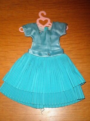 "Vintage ~14""Betsy McCall Dress~Blue Dress"