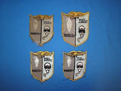 Korea-Vietnam Air Force USAF Squadron Patch LOT, 3561st (I)