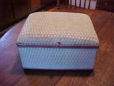 Vintage Heywood Wakefield wicker box