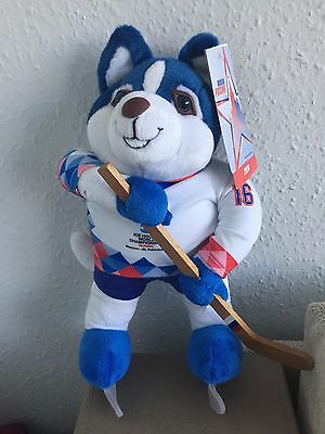 Ice Hockey Talisman - Ice Hockey World Championship (Moscow-St. Petersburg 2016)
