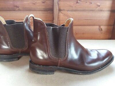 Loakes Mens Chelsea Boots Brown - Size 11