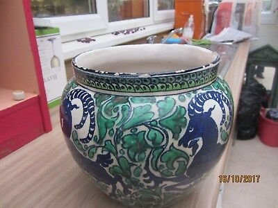 lovely vintage/antique faenza vase