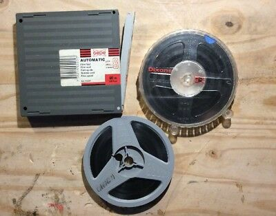 2 X Super 8mm Film Home Movies 200 Ft Holidays Family