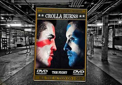 Anthony Crolla v Ricky Burns Boxing DVD