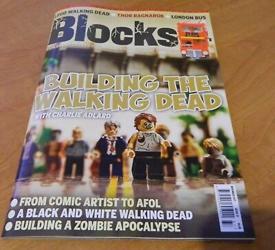 Lego Blocks Magazine Issue 37 November 2017. The Walking Dead Cover
