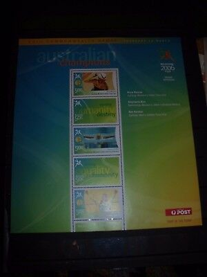 Australia Stamp Sheet Lot 1 2006 Commonwealth Stamp Sheet No 2 Mnh All Scanned B