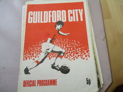 Guildford  City  V  Poole  Town   Year???