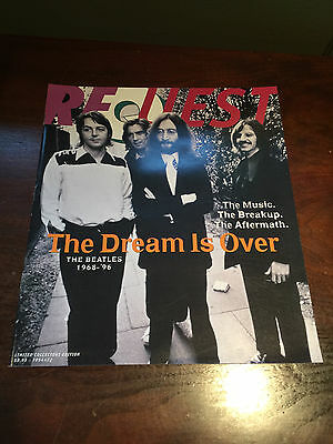 Request Magazine Beatles Issue The Dream Is Over
