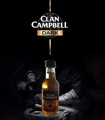 Clan Campbell dark miniature