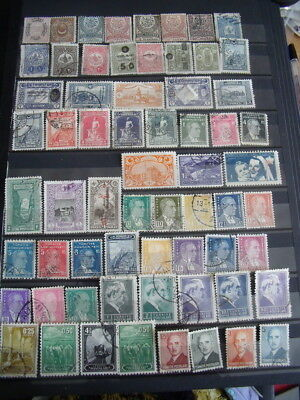 Turkey Stamps Lot 1 X 141 Used Stamps - All Scanned Below The Written Descriptio