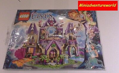 Lego BRAND NEW Instruction Book Manual 41078 Skyra's Mysterious Sky Castle Elves