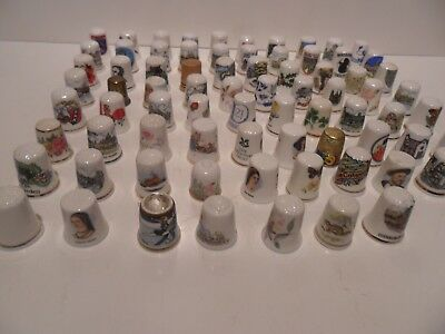 Superb Large Job Lot Of Wonderful Thimbles