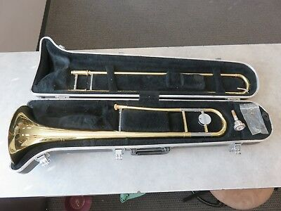 YAMAHA YSL-354 TROMBONE in HARD CASE made in Japan S# - 280977A