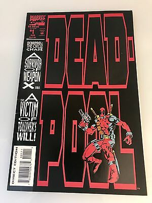 Marvel Comic Book Deadpool The Circle Chase #1 Direct Edition  Ungraded