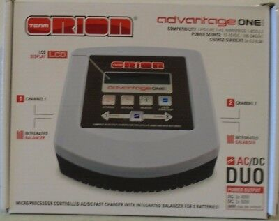 Team Orion Advantage ONE Duo AC/DC Charger ORI30243