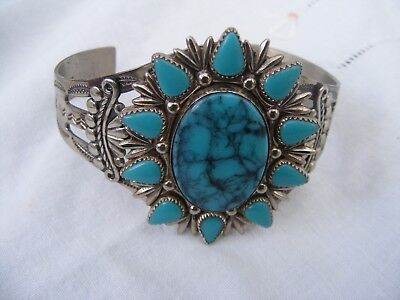 Vintage Cuff Bracelet From The Bell Trading Company Albiquerque.