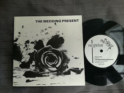 "THE WEDDING PRESENT Once More UK Reception 7"" picture sleeve vinyl record indie"
